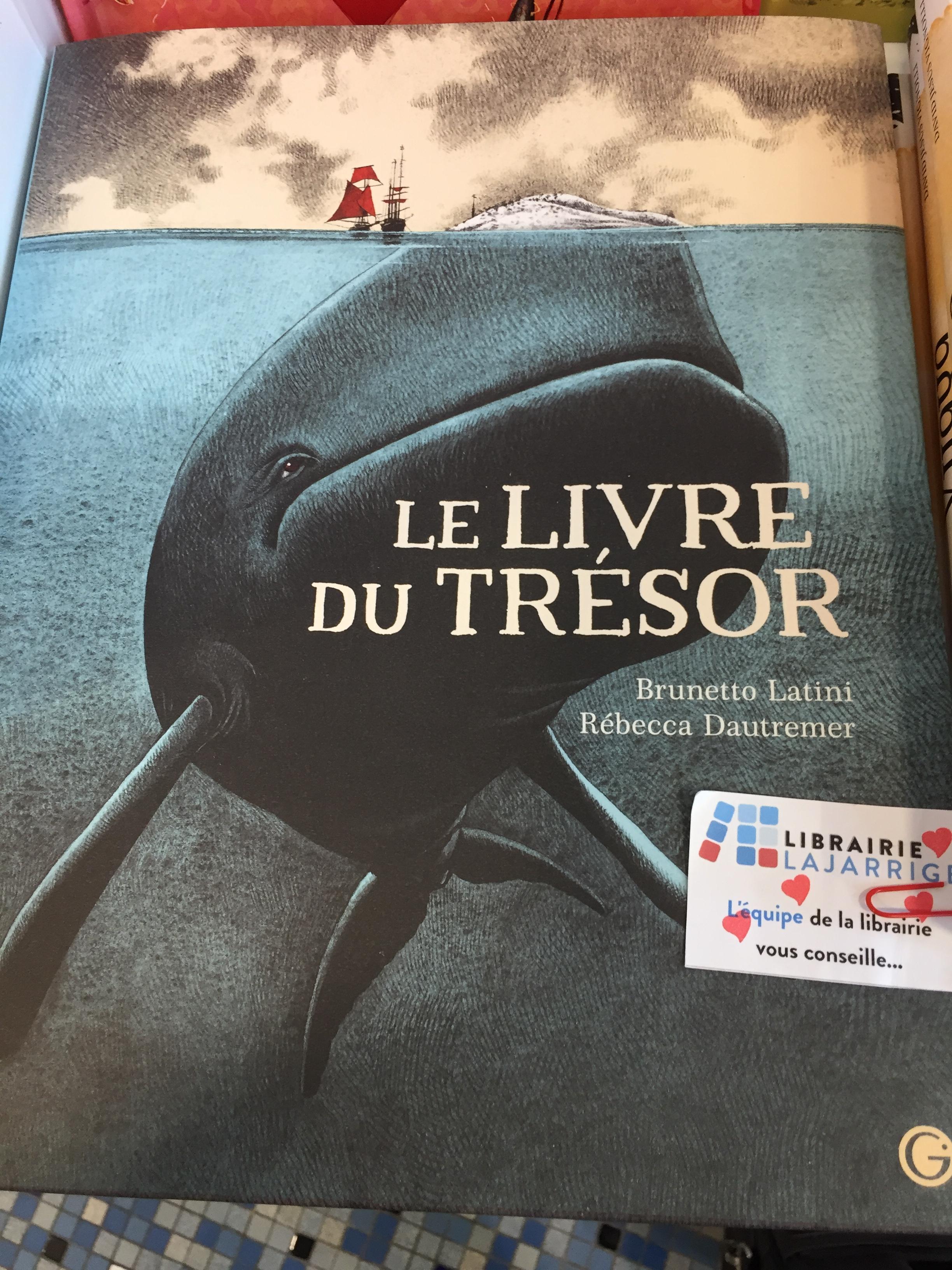 Livre du trésor, Librairie Lajarrige à La Baule-Escoublac